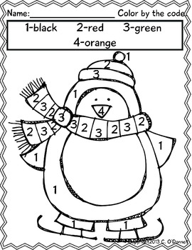 Winter print and go worksheets: common core, word work