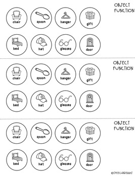 Wishy Washy Speech Therapy Craft {articulation and