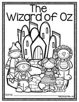 The Wizard of Oz Novel Companion with Character Posters by