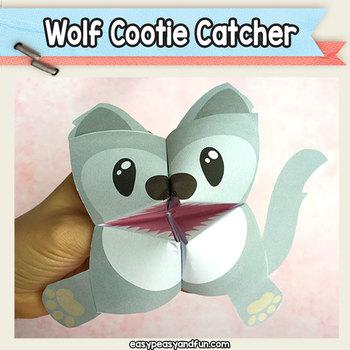 wolf cootie catcher fortune