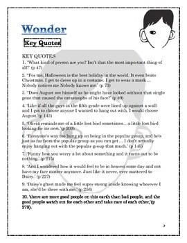 Wonder Novel Study & Student Engagement Journal by Room 4