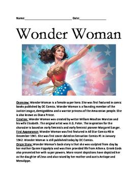 wonder woman super hero