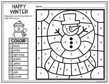 Winter Coloring Pages and Writing Sheets, Snow, Hot Cocoa