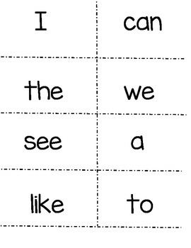 McGraw Hill Wonders Kindergarten Sight Words! (plus color