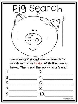 Wonders, Unit 1, Week 2, 1st Grade, Centers, Printables