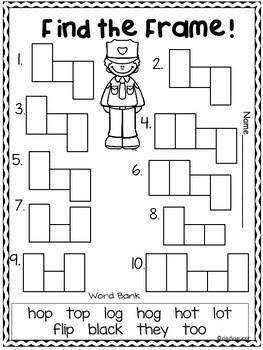 Wonders, Unit 1, Week 4, 1st Grade, Centers, Printables
