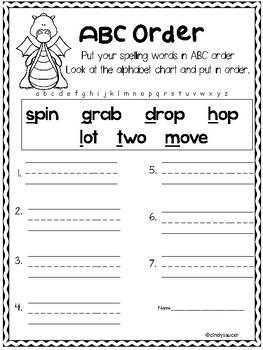 Wonders, Unit 1, Week 5, 1st Grade, Centers, Printables