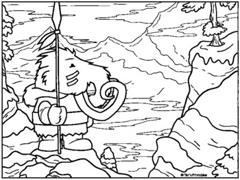 Woolly Mammoth Facts for Kids: Fact Sheet, Coloring Pages