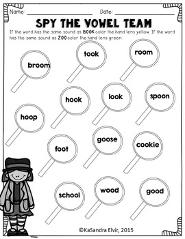 Word Detective Blends, Digraphs, Diphthongs Bundle by