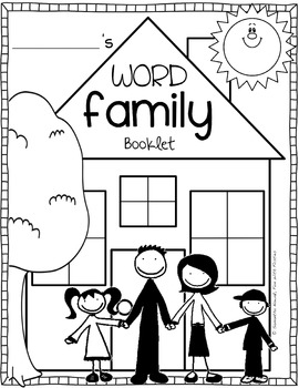 Word Family Booklet: featuring the top 25 word families by