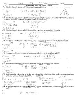 Worksheet Work And Power Problems : worksheet, power, problems, Power, Problems, Worksheet, Spreadsheet