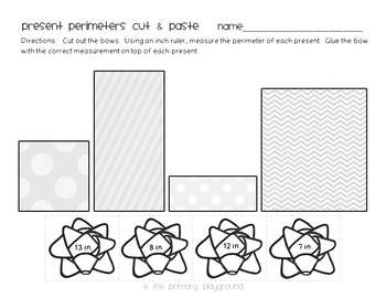 Wrap it Up! Perimeter and Area Unit {Common Core} by The