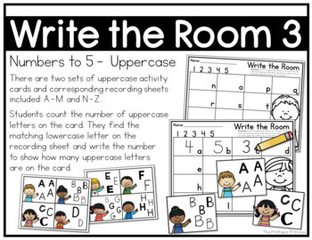 Write the Room {Alphabet Activities to Teach Letter