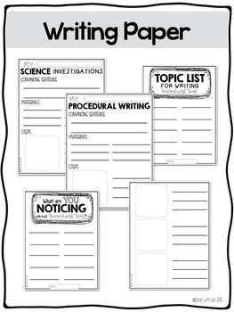 Writers' Workshop: Procedural Writing Unit by Jen Kimbrell
