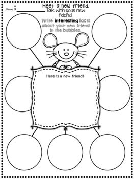 Back to School Books Writing Activities by 1st Grade is