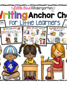 Writing anchor charts for little learners with text types  purposes also kindergarten teaching resources teachers pay rh teacherspayteachers