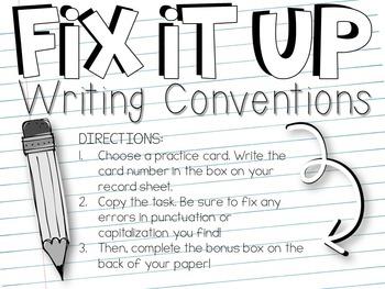 Conventions in writing practice. The ACT English Practice