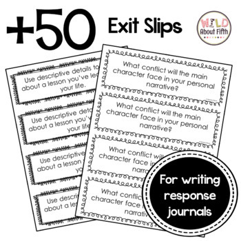 Writing Exit Tickets for Launching Writing Workshop