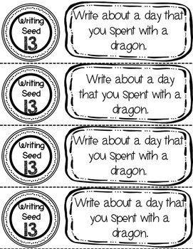 Daily Writing Journal Prompts for Elementary Students by