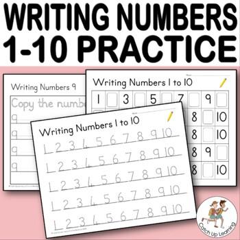 {Writing Numbers 1-10} {kindergarten counting