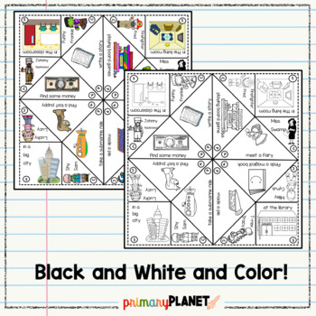 Story Starters: Writing Prompt Cootie Catchers: Hands on