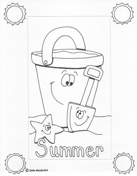 Writing Stationery Templates (Summer Holidays) by