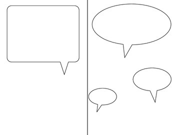 Writing Templates with Speech Bubbles (K-3) by Andrea