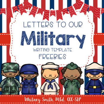 Writing Templates For Letters To The Military By