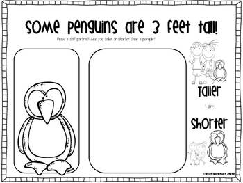 Writing/Reading Comprehension {All about PENGUINS