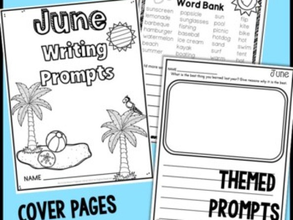 YEARLONG Writing Prompts Monthly Journals BUNDLE