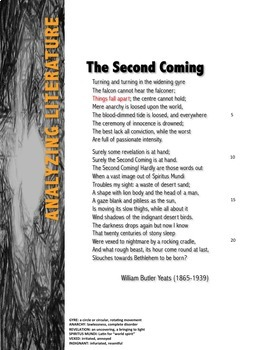 """Yeats' """"The Second Coming"""" (Things Fall Apart or Stand"""