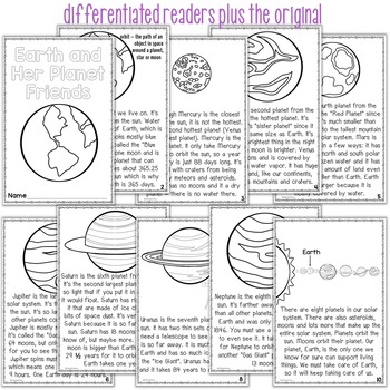 Planets Differentiated Readers Earth and Her Planet