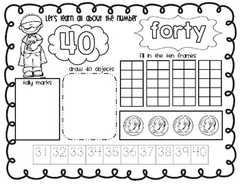 Zero the Hero worksheets and templates by Kinder