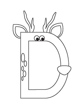 Inspired by Zoo Phonics, Uppercase Alphabet Bundle by