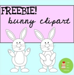 clipart bunny rabbit easter april spring march ratings