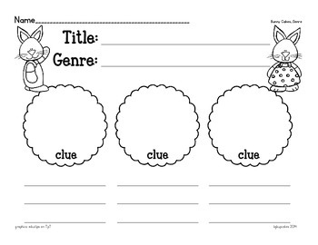 bunny cakes_comprehension companion mini bundle by