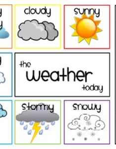 Daily weather chart also teaching resources teachers pay rh teacherspayteachers