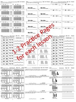 enVision Math 2.0 Topic 10 ~BUNDLE~ Grade 1 by Stacey Robinson