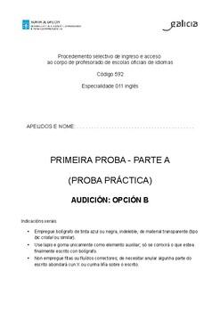 examen Eoi Galicia 2019 by maria hÄst | Teachers Pay Teachers