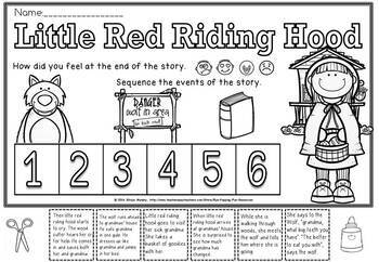 little red riding hood sequence by Eye Popping Fun
