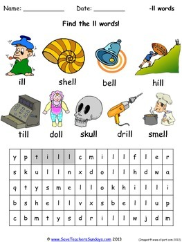 Ll Phonics Worksheets Activities And Other Teaching