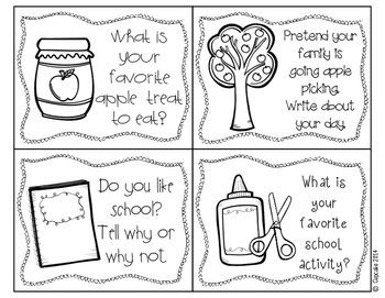 Seasonal Journals {Writing Prompts & Stationary} by A