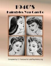 1940s hairstyles tutorials - primary