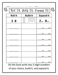 Math Worksheets  Math Worksheets Tens And Ones ...