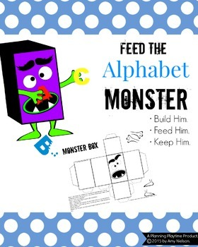 Letter Recognition Activity  Feed The By Planning