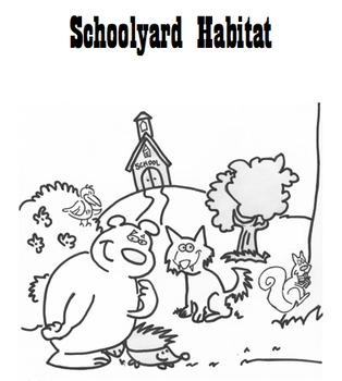 Schoolyard Habitat ecology biotic abiotic lab... by Mister