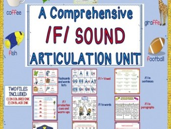 A Comprehensive /F/ Sound Articulation Unit- Sound to Carr