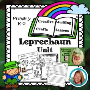 St. Patrick's Day Writing and Crafts - Leprechaun Unit