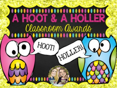 Student Awards A HOOT & A HOLLER Student Recognition