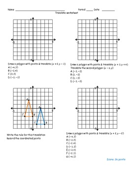 All Worksheets » Transformation Geometry Worksheets Pdf